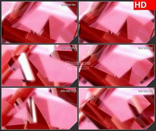 bg1624粉色红色旋转背景时尚动感高清led大屏视频背景素材