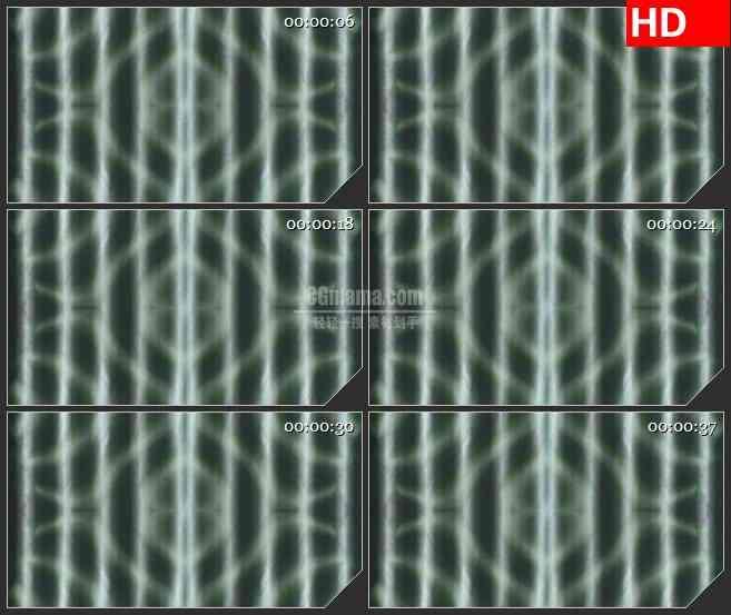 BG1641黑白线条旋转镜像分裂动态LED高清视频背景素材