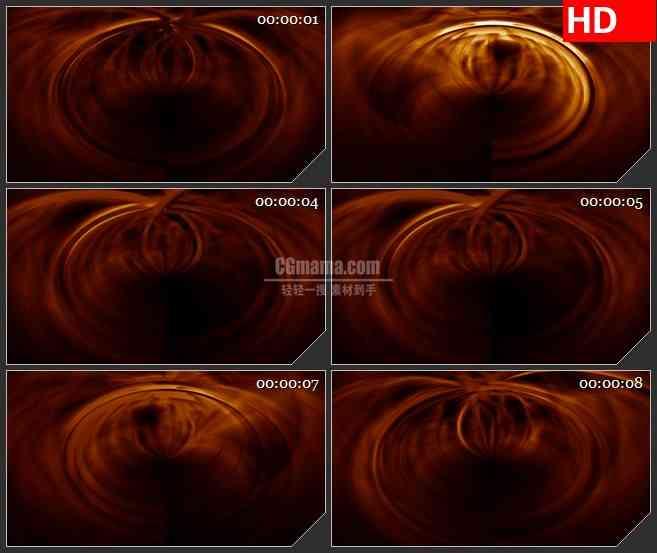 BG1652红色光线旋转高清led大屏视频背景素材