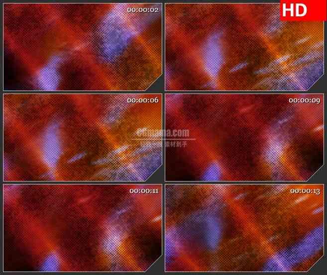 BG1749流动的橙色粒子 高清LED大屏视频背景素材