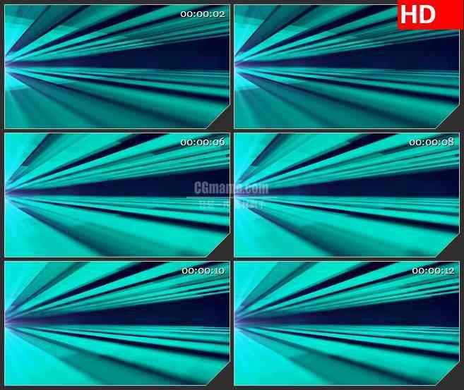 BG1779青色蓝绿色放射光线动态LED高清视频背景素材