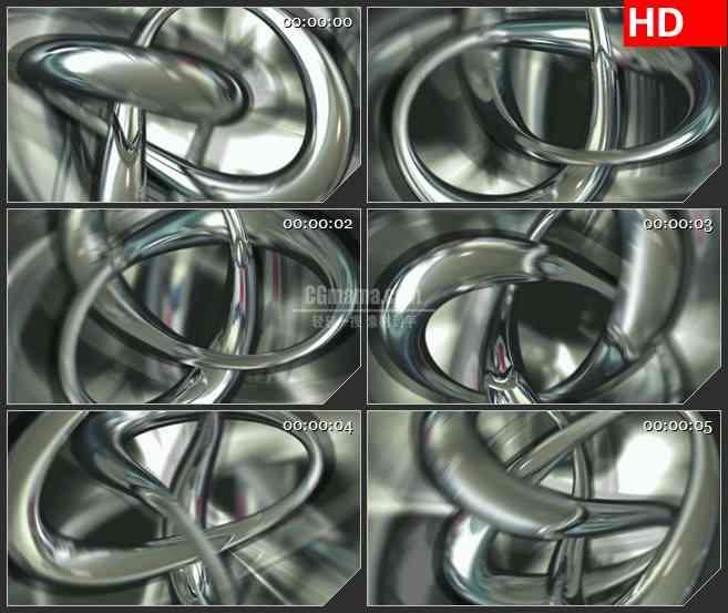 BG1820水银流体 抽象液体闪动 高清LED大屏视频背景素材