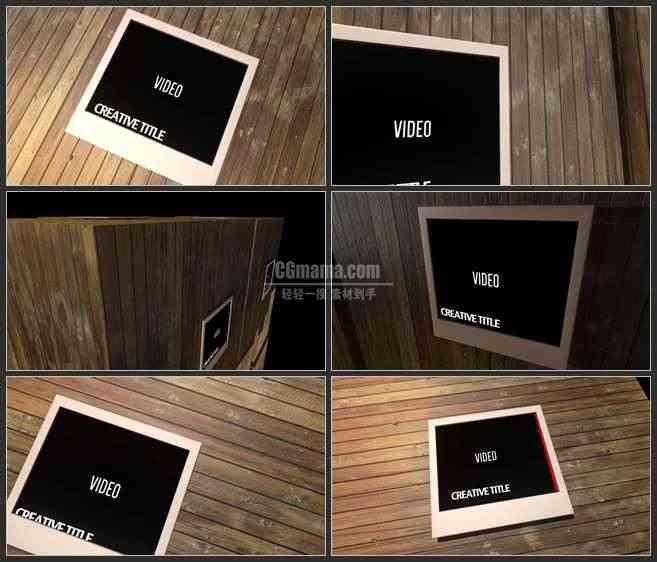 AE2855-3D小木屋 相册图片展示