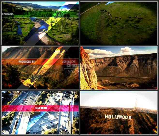 AE2994-实景展示 文本动画 预告宣传片