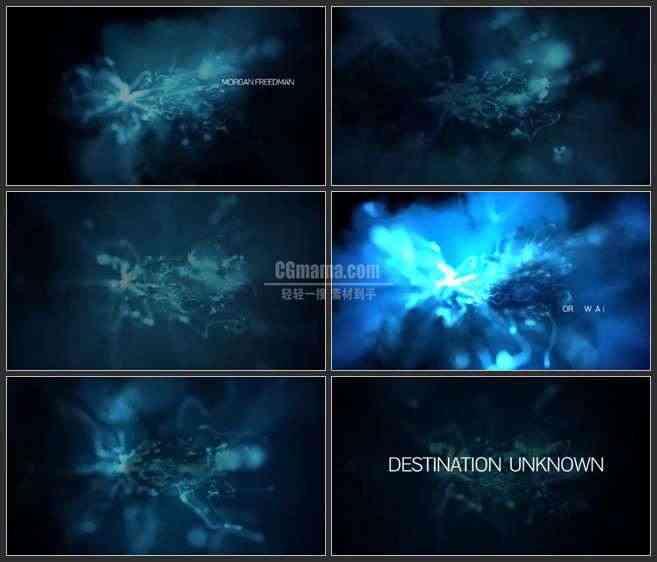 AE2997-神秘云状物 文本展示 宣传预告片