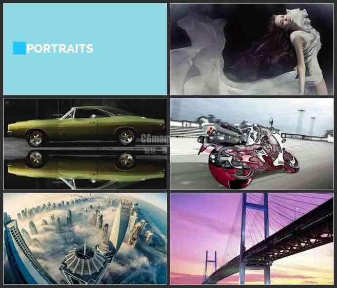 AE3025-滑动的画报 图文展示 时尚宣传片