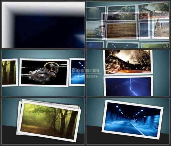 AE3057-摄影展示 图文展示 摄影展宣传片