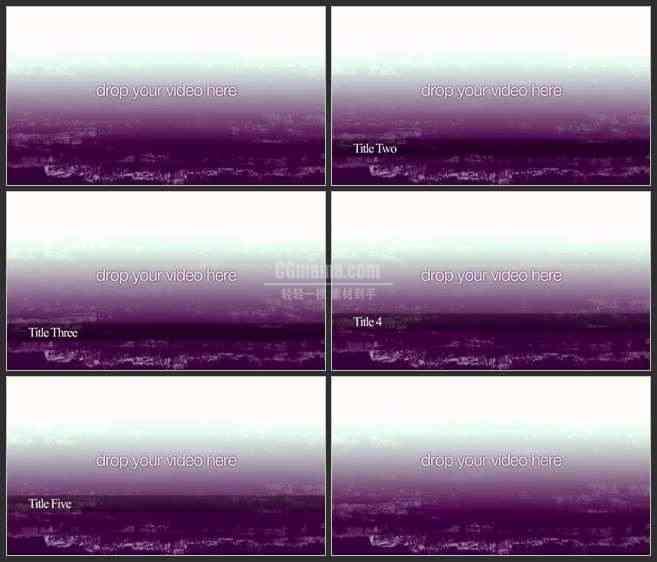 AE3064-抽象杂质背景 文本视频展示