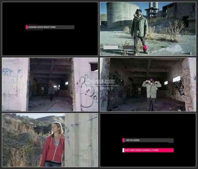 AE3081-故事性描述 图文视频展示 宣传片