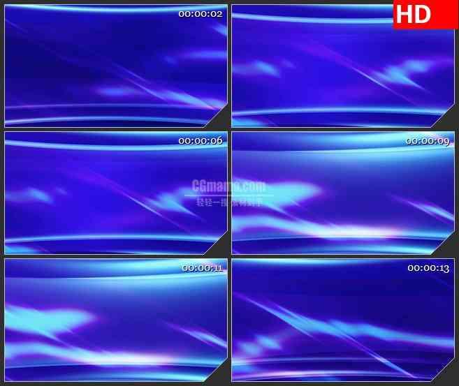 BG1965旋转的紫色抽象色调标题版动态LED高清视频背景素材