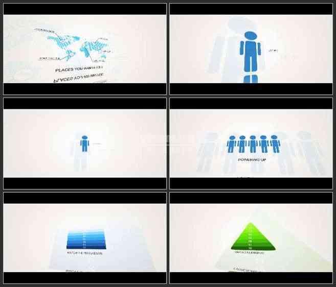 AE3117-二维动画 数据分析 商务类 图文展示