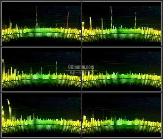 AE3118-LED大屏幕素材 音乐背景 视频素材