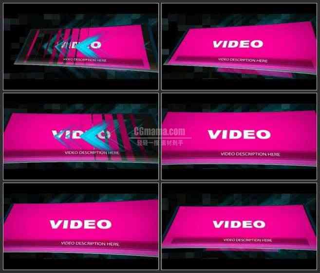 AE3142-不断变换的屏幕 动感音乐俱乐部 图文视频展示
