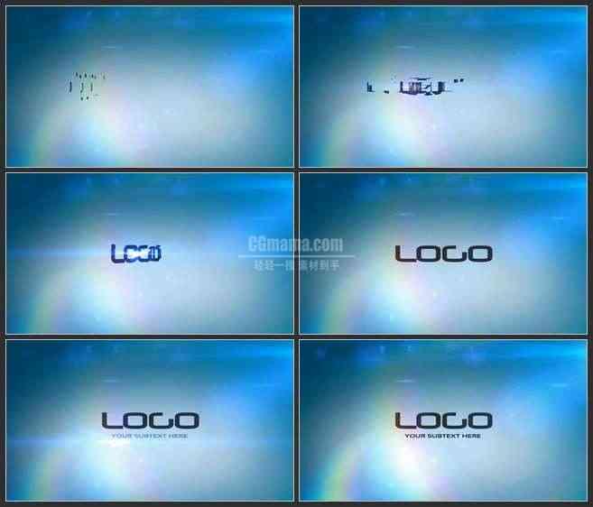 AE3199-重组再生的LOGO 片头