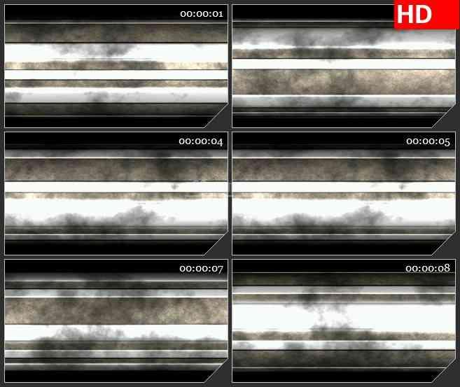 BG2136金属齿轮旋压复古圆柱转动面特写动态LED高清视频背景素材