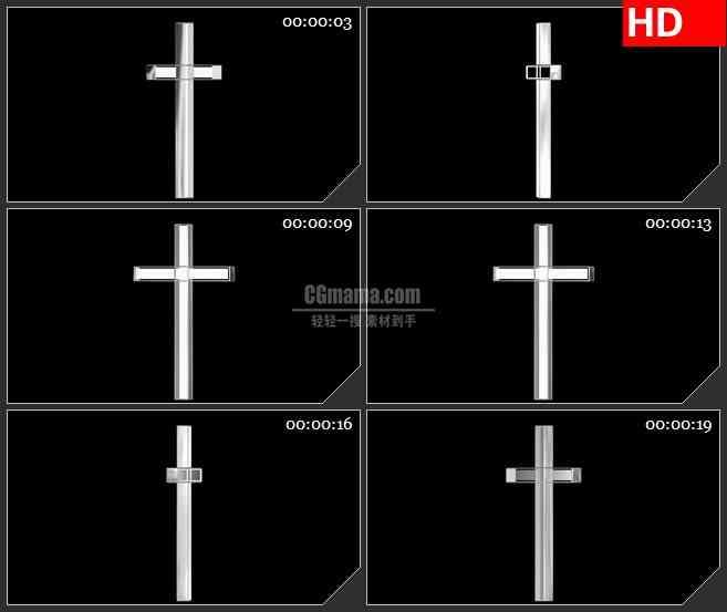 bg5372白色网格曲线运动led大屏背景高清视频素材