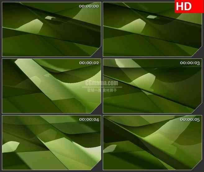 BG2268旋转的绿色矩形块动态LED高清视频背景素材