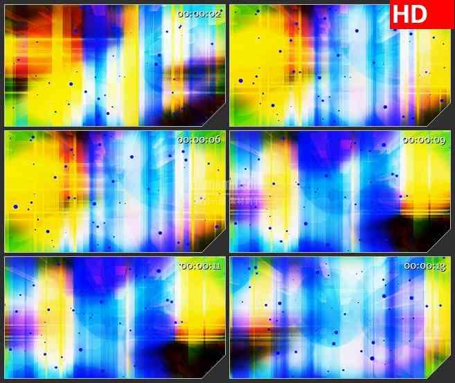 BG2347多色粒子平面旋转高清led大屏视频背景素材