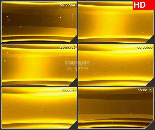 BG2387金色气泡粒子平移运动高清led大屏视频背景素材