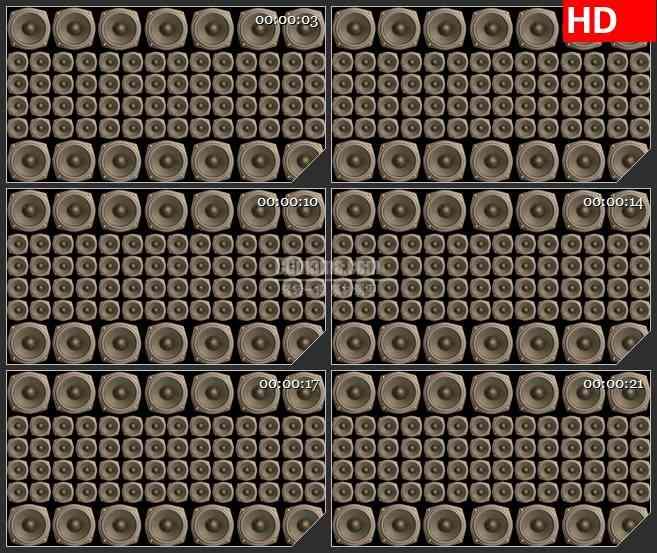 BG2397喇叭墙高清led大屏视频背景素材