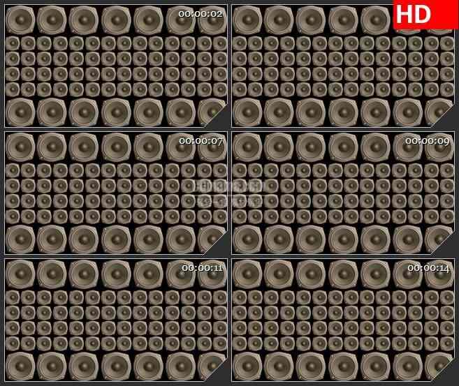 BG2398喇叭墙2高清led大屏视频背景素材