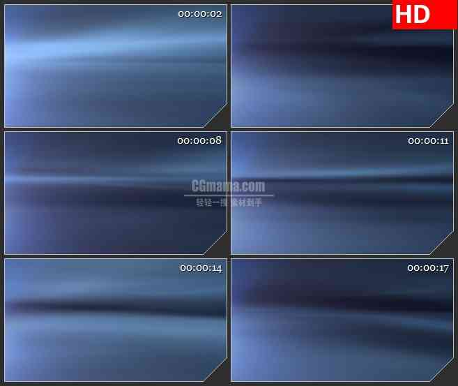 BG2488深蓝色梯度空间炫光移动高清led大屏视频背景素材