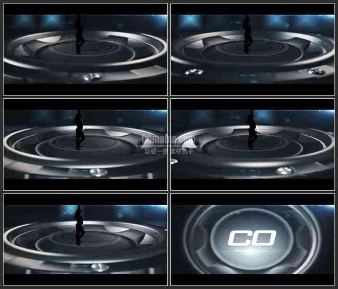 AE3280-跳动的音响  LOGO展示 片头