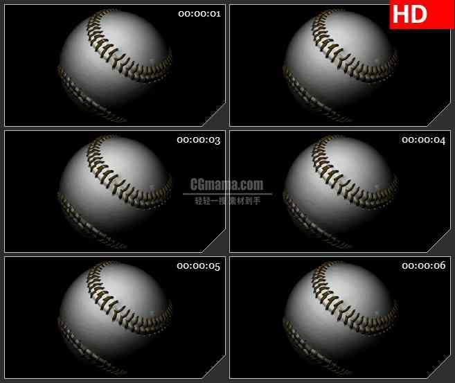 BG2508新棒球旋转暗高清led大屏视频背景素材