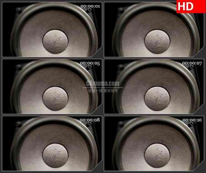 BG2518扬声器泵振动高清led大屏视频背景素材