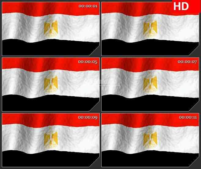 BG2567埃及国旗飘动高清led大屏视频背景素材