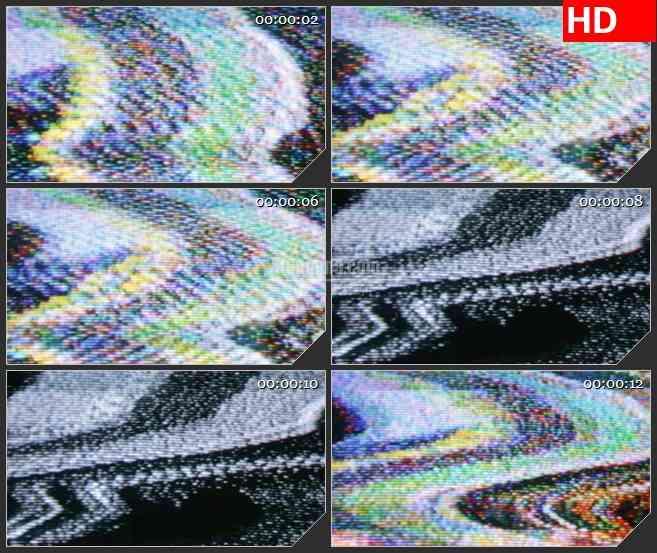 BG2600电视燥波高清led大屏视频背景素材
