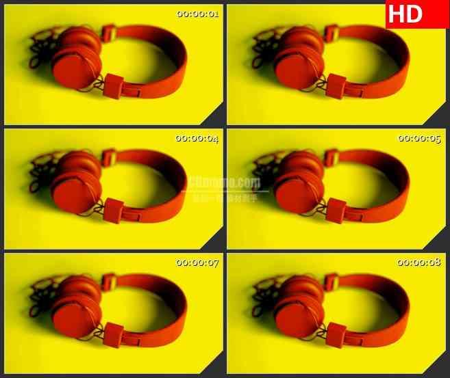 BG2605耳机色调转换高清led大屏视频背景素材