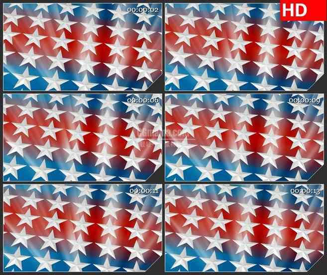 BG2606发光星星条纹镜头移动高清led大屏视频背景素材