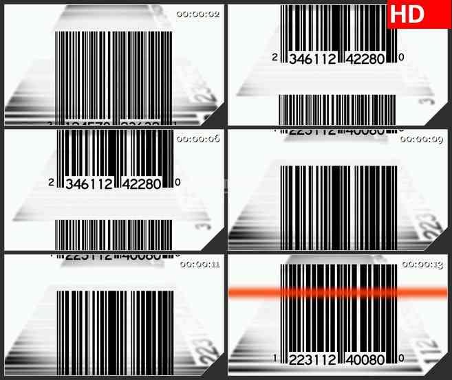 bg2639滚动条码扫描高清led大屏视频背景素材