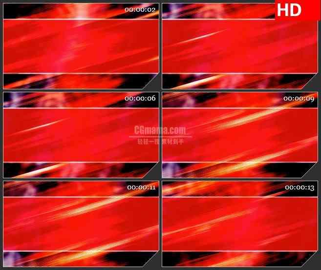 bg2654红色的光条纹理背景高清led大屏视频背景素材