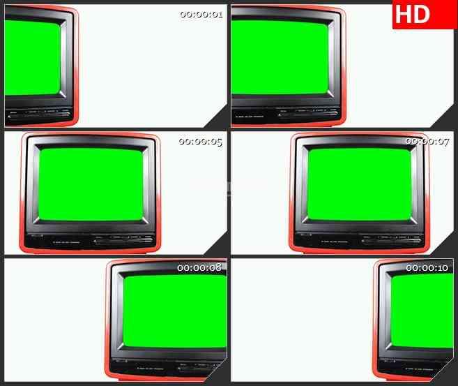 BG2661滑动电视绿屏白色背景高清led大屏视频背景素材