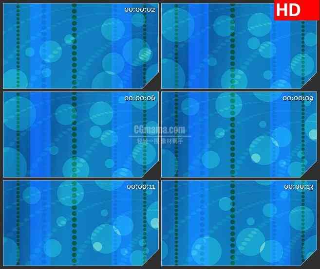 BG2709蓝色圆形背景高清led大屏视频背景素材