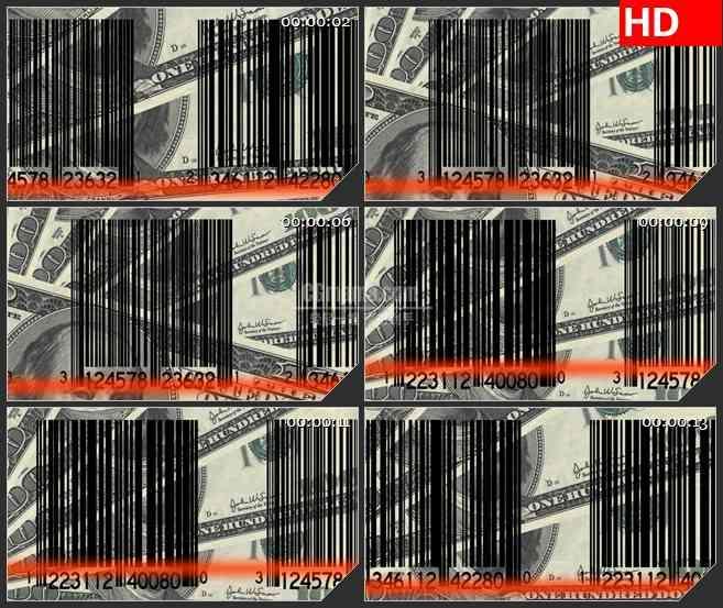 BG2777扫描条形码和钱移动高清led大屏视频背景素材