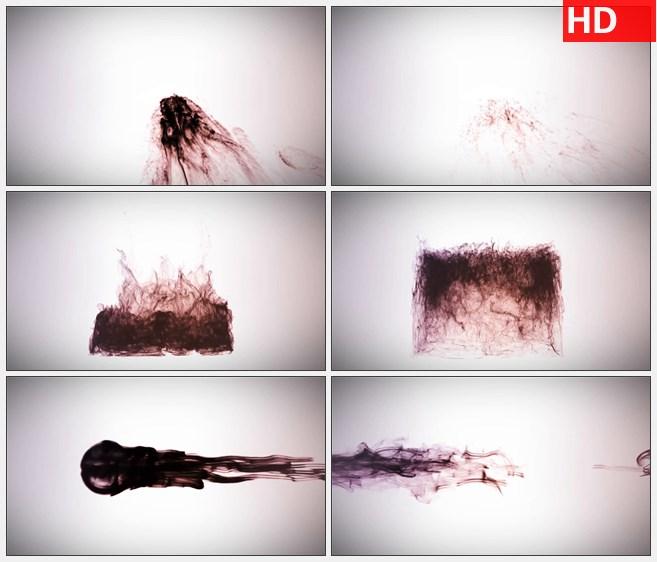 ZY1421水墨粒子高清特效视频素材