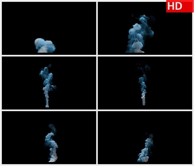 zy1458水墨烟雾粒子特效高清视频素材