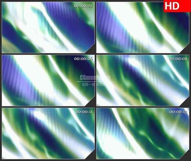 BG2893抽象的蓝绿色光辉高清led大屏视频背景素材