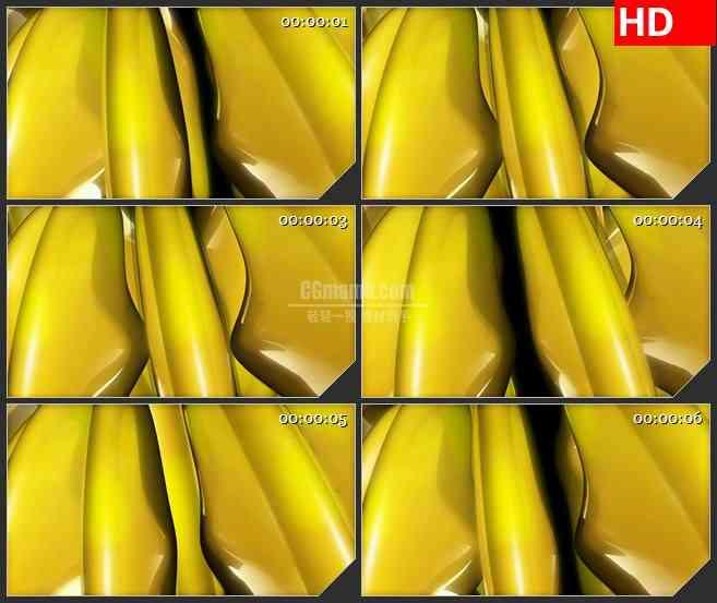 BG2931光滑的香蕉高清led大屏视频背景素材