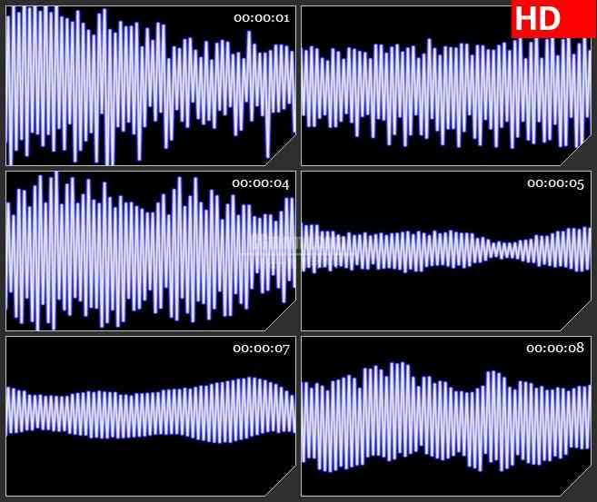 BG2956欢快跳动的音频图高清led大屏视频背景素材