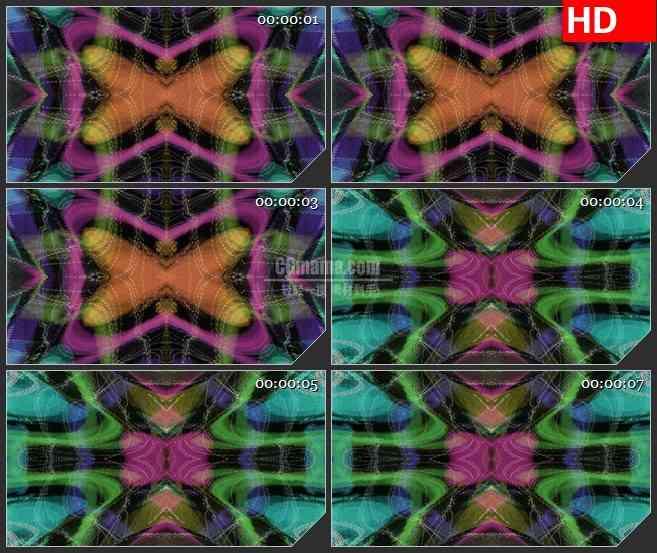 BG2966静态电视镜像 抽象图形运动高清led大屏视频背景素材