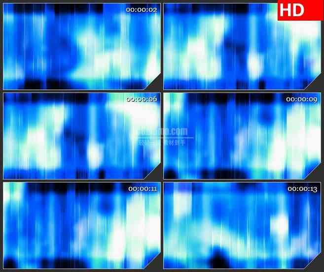 BG2979蓝色梦幻空间 抽象光斑运动高清led大屏视频背景素材
