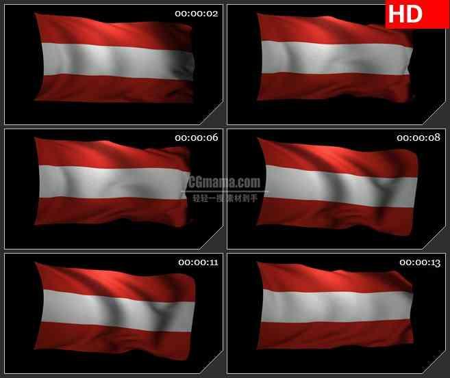 BG3003飘动的澳大利亚国旗高清led大屏视频背景素材