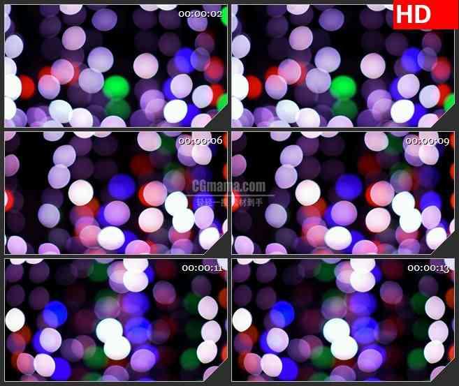 BG3024闪烁的梦幻光斑高清led大屏视频背景素材