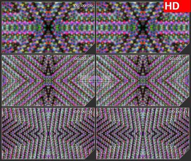 BG3033神奇变化的万花筒高清led大屏视频背景素材