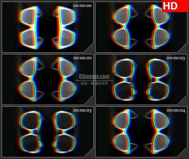 BG3036太阳镜的蒙太奇高清led大屏视频背景素材http://player.polyv.net/videos/pla...