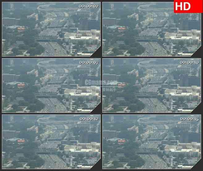 BG3041外国景象 城市街景高清led大屏视频背景素材